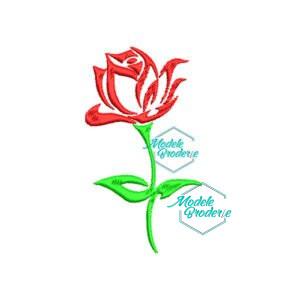 Model broderie trandafir 171