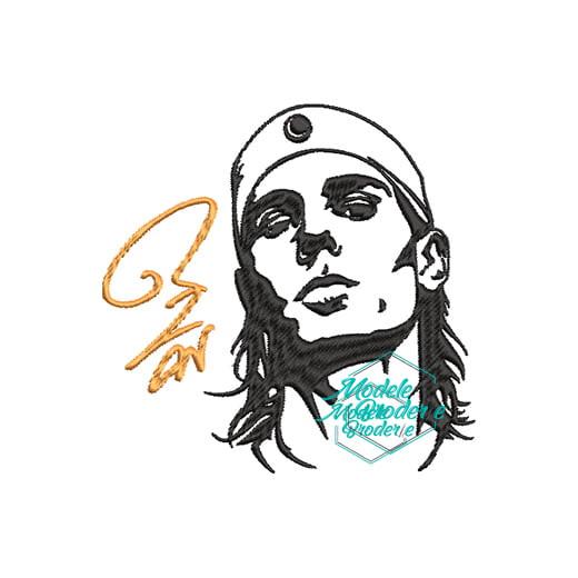 Model broderie Nadal tenis