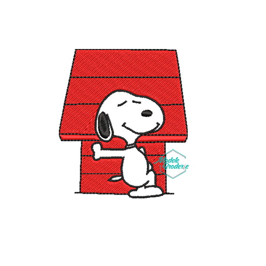 Model broderie Snoopy 127