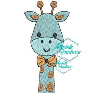 Model broderie baby girafa 233