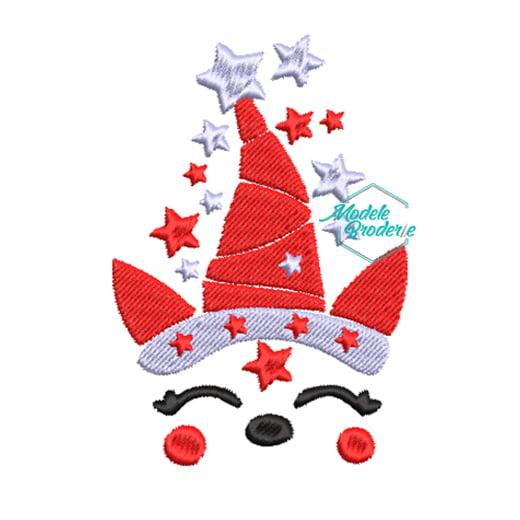 1Model broderie unicorn Christmas 240