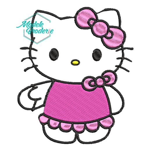 Model broderie Hello kitty 252
