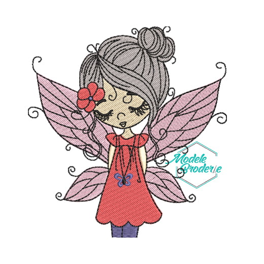 Model broderie Fairy MBR332