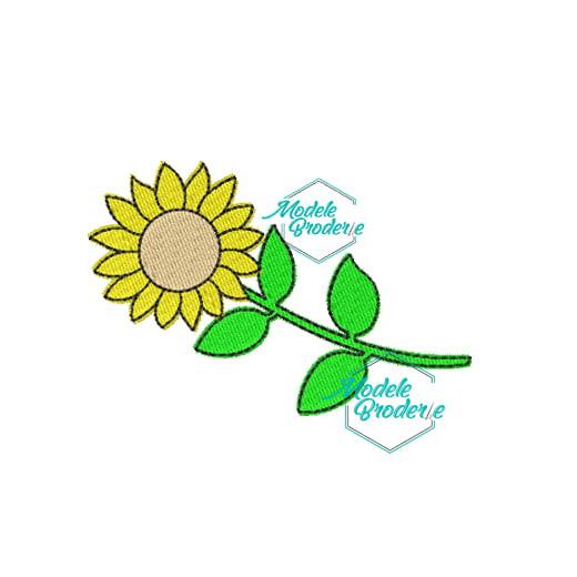 Model broderie floarea soarelui MBR378