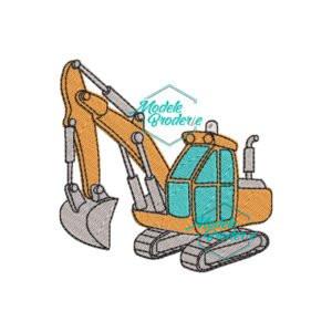 Model broderie excavator MBR416